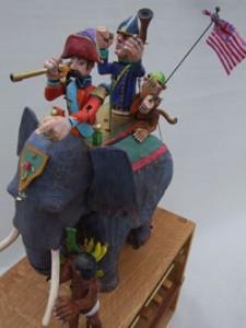 Elephant by artist Carlos Zapata