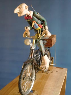 The Automata Repairman by artist Carlos Zapata