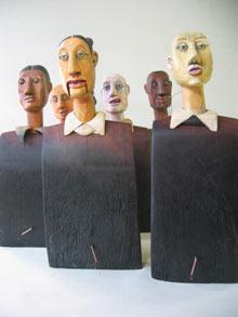Torsos - by artist Carlos Zapata